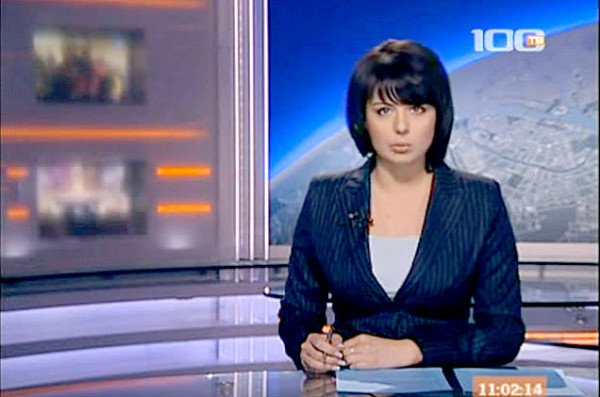 News on 100 TV. December 12, 2008