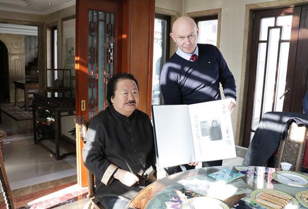 Встреча с китайским художником Цуй Жучжо