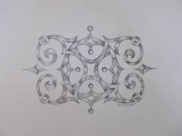 «Х.О.»开头的家庭组合字母图案