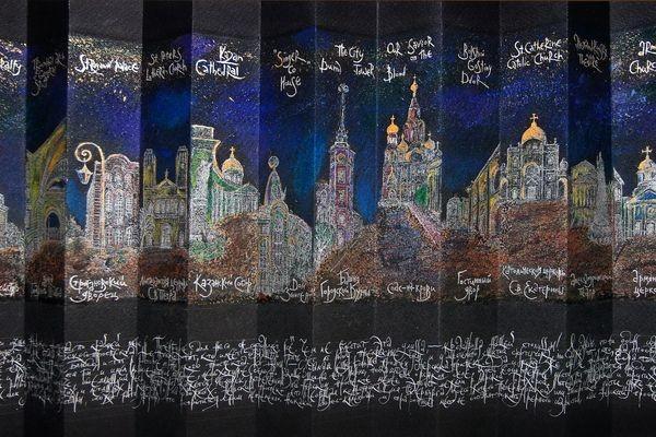 Первая крупная персональная выставка Аполлинарии Мишиной