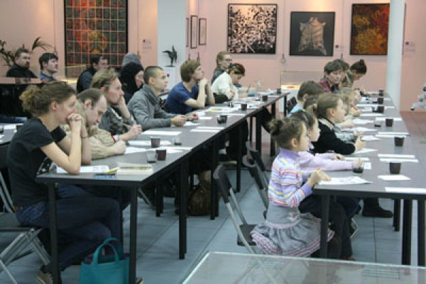 December 9, 2012. Final Workshops at the 4<sup>th</sup> International Exhibition of Calligraphy