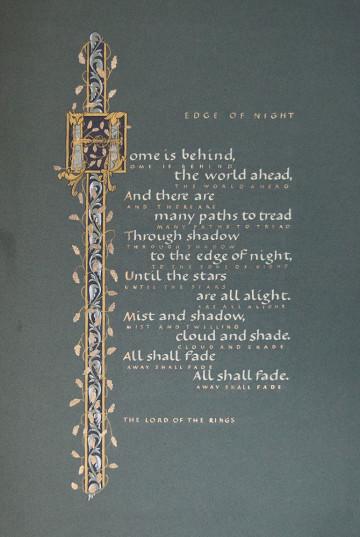 Edge of Night。«魔戒:王者无敌»中皮聘之歌