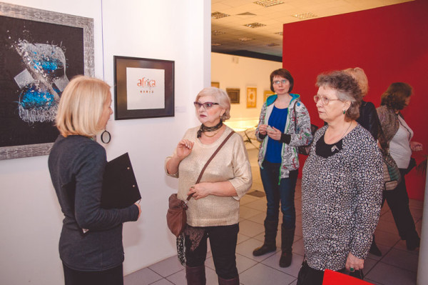 A charitable excursion in the Contemporary Museum of Calligraphy