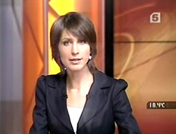 """Now"" news program on Channel 5. September 10, 2010"