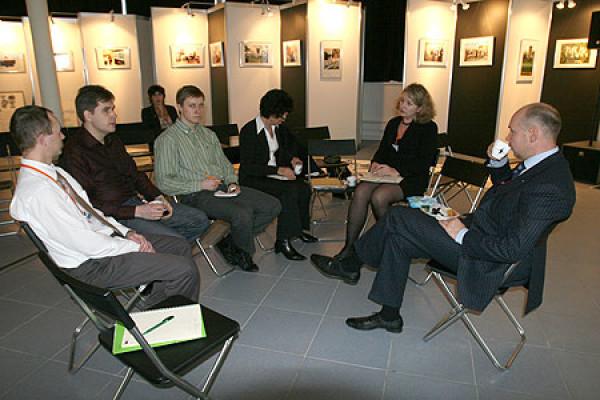 Встреча команды Международной выставки каллиграфии