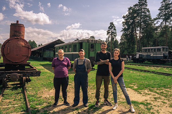 Expedition team visited railroad museum in Pereslavl-Zalessky