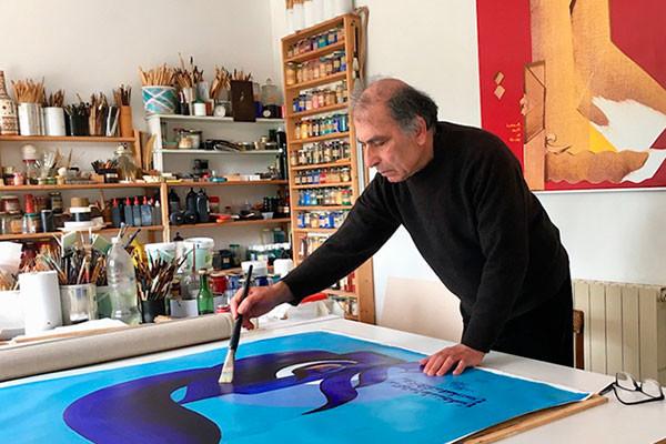 Иракский художник-каллиграф в поисках гармонии