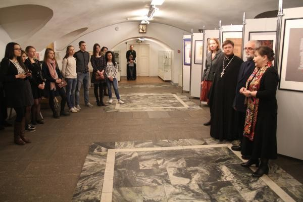 Calligraphy exhibition opened in Kazan Cathedral