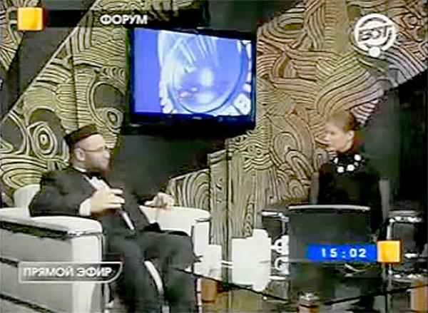 """VOT电视台,""""论坛""""节目, 2008年9月18日"""