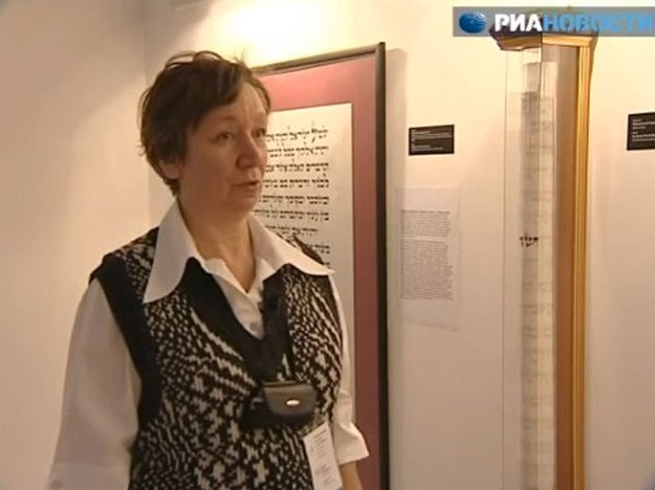RIA Novosti TV Channel — International Exhibition of Calligraphy's unique exhibits. November 6, 2009