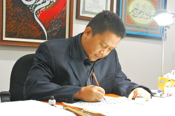 Музей мировой каллиграфии поздравляет с днем рождения каллиграфа Абу Бакар Абдул Баки