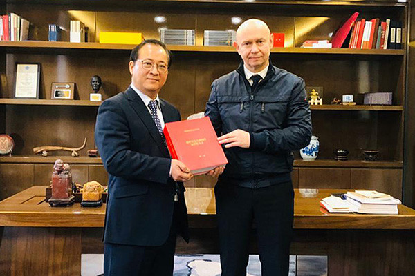 Alexey Shaburov met with Mr. Guo Jie