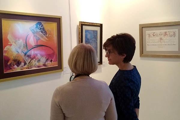 Представитель МГИМО посетила Современный музей каллиграфии