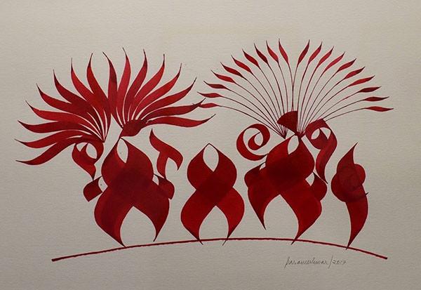 Parmeshwar Raju's Art Simple strokes, complex stories
