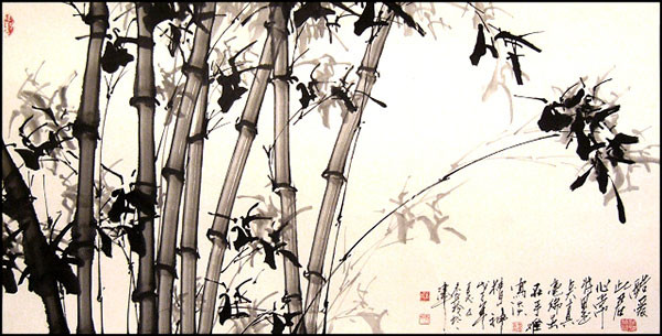 A Chinese ink painting exhibition to open in the main museum of Khakassia