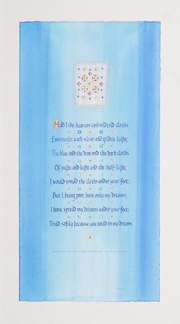 «Он желает небесные ткани...». Стихи Уильяма Батлера Йетса