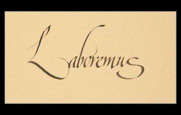 Laboremus(让我们开始工作)