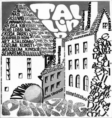 Tallinn, a font composition.