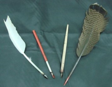 Writing utensils used for the inaugural address of the President of the Russian Federation
