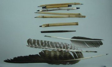 Writing utensils of N. Taranov
