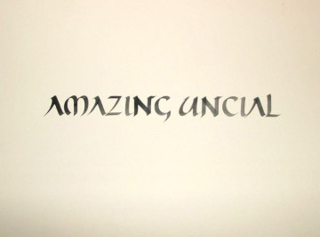 Amazing uncial