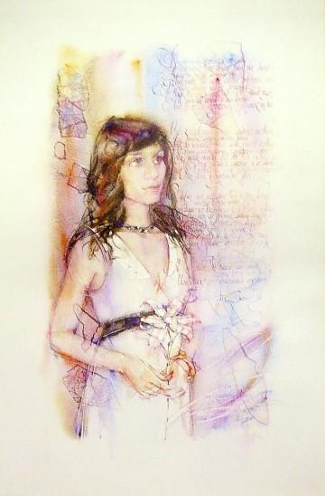 O.M. Shaburova. Portrait.