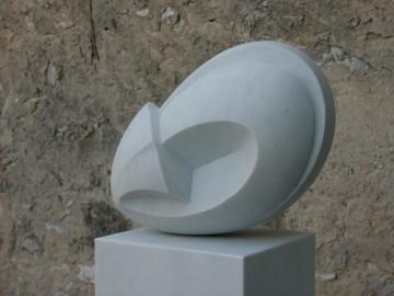 VI — White marble