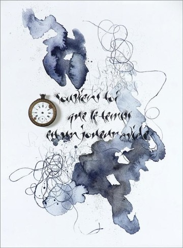 Baudelaire. The Clock