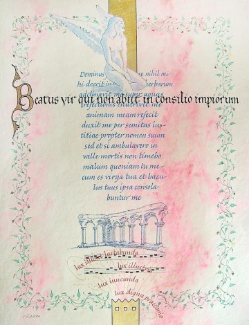 """Beatus Vir"" (""Blessed are those who..."")"