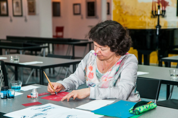 Pointed Pen training course