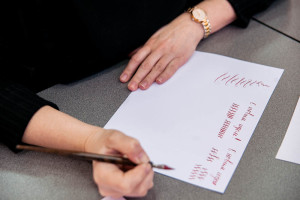 """New Year crash course """"Holiday pointed pen calligraphy"""""""