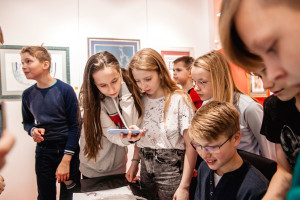 An excursion with a master class for children of school No. 777