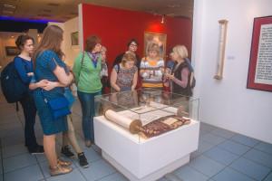 《俄罗斯草书》大师班参观博物馆
