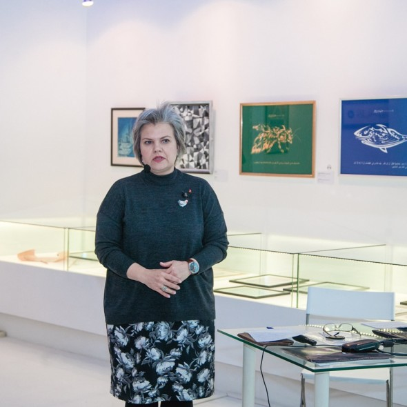 奥莉加•莫罗佐娃《笔迹学之神话  您的笔迹在诉说什么》讲座