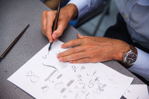 Pointed Pen calligraphy course