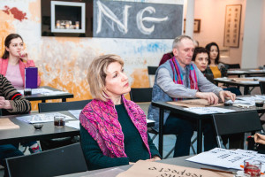 Calligraphy and Music about Love workshop