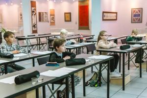 Первое занятие курса «Чистописание на основе итальянского курсива»