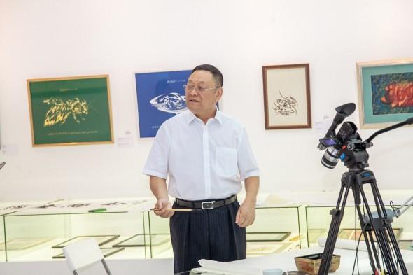中国书法家赵学礼授课大师班