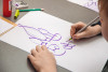 Заключительные занятия детской группы в Национальной школе искусства красивого письма
