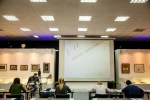 Занятия студентов курса «Остроконечное перо»