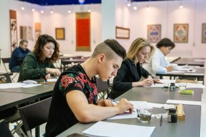 """""""Pointed Pen"""" intensive course,  March 27-28, 2018"""