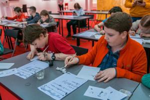 Экскурсия для школьников 734-й московской школы