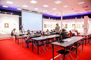 Calligraphy workshop for children