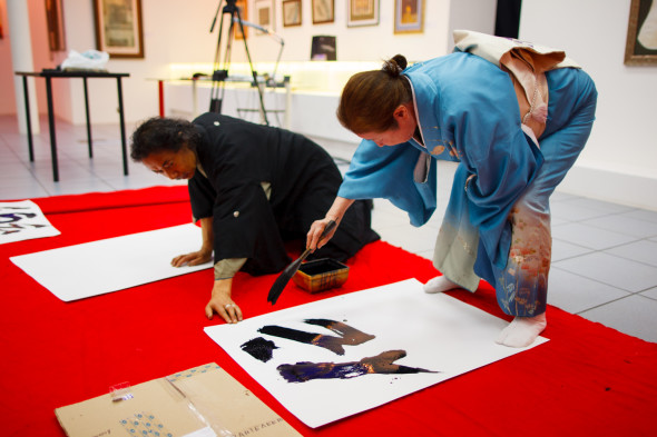 Japanese Calligraphy workshop