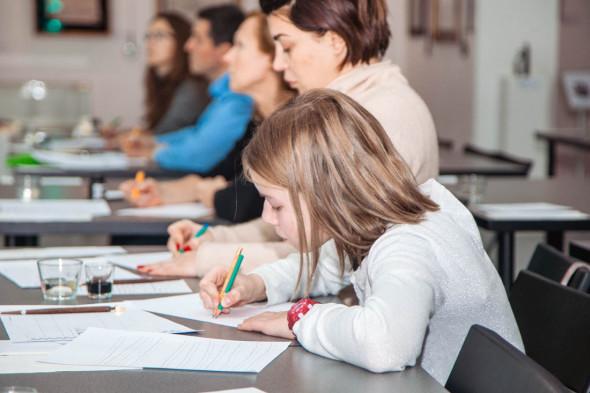 国立书法学校新班开课