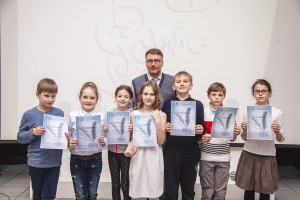 Final class of the children's group at the National School of Calligraphy