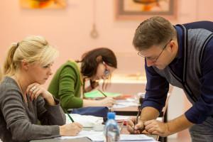 《钢笔书法》大学生培训班课程