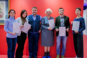 Graduation of the Fine Handwriting course