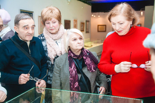 Charity museum tour