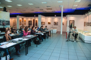 Start of the new course at the National School of Calligraphy